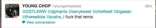 Young Chop Says Fuck Kanye